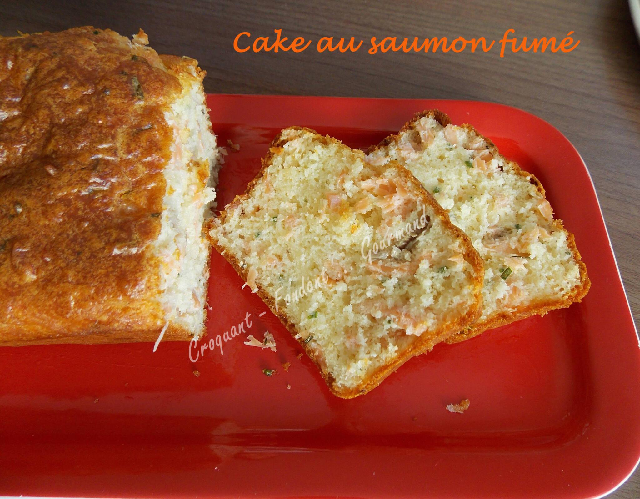 cake au saumon fum croquant fondant gourmand. Black Bedroom Furniture Sets. Home Design Ideas