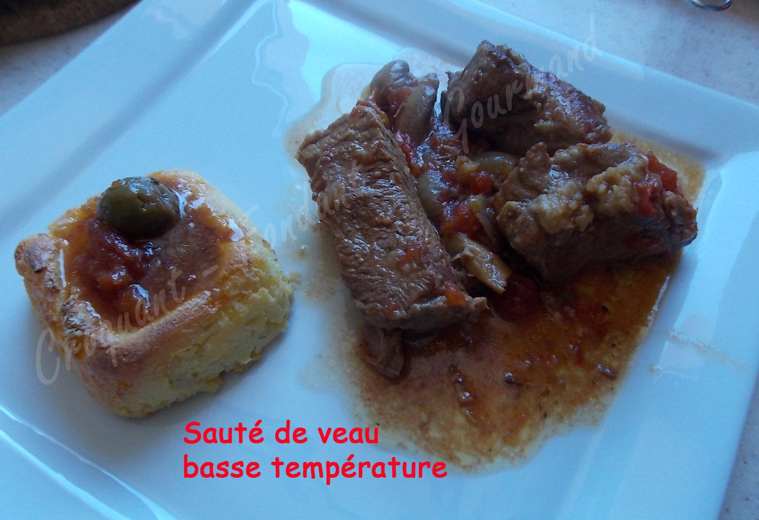 Saut de veau basse temp rature croquant fondant gourmand - Cuisine basse temperature recettes ...