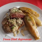 Faux filet dijonnaise DSCN7190
