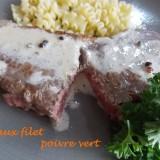 Faux filet  poivre vert DSCN7179
