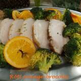 Rôti orange-brocolis CV  DSCN7065