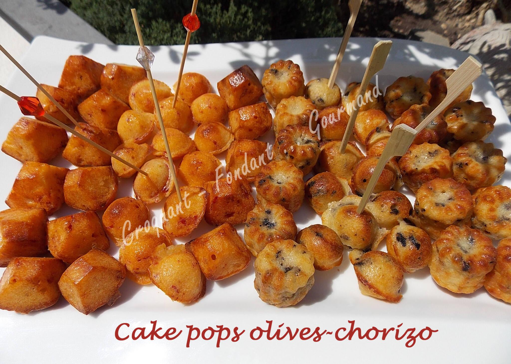 cake pops olives chorizo croquant fondant gourmand. Black Bedroom Furniture Sets. Home Design Ideas