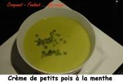 crème de petits pois à la menthe Index - 12- 2008 035 copie