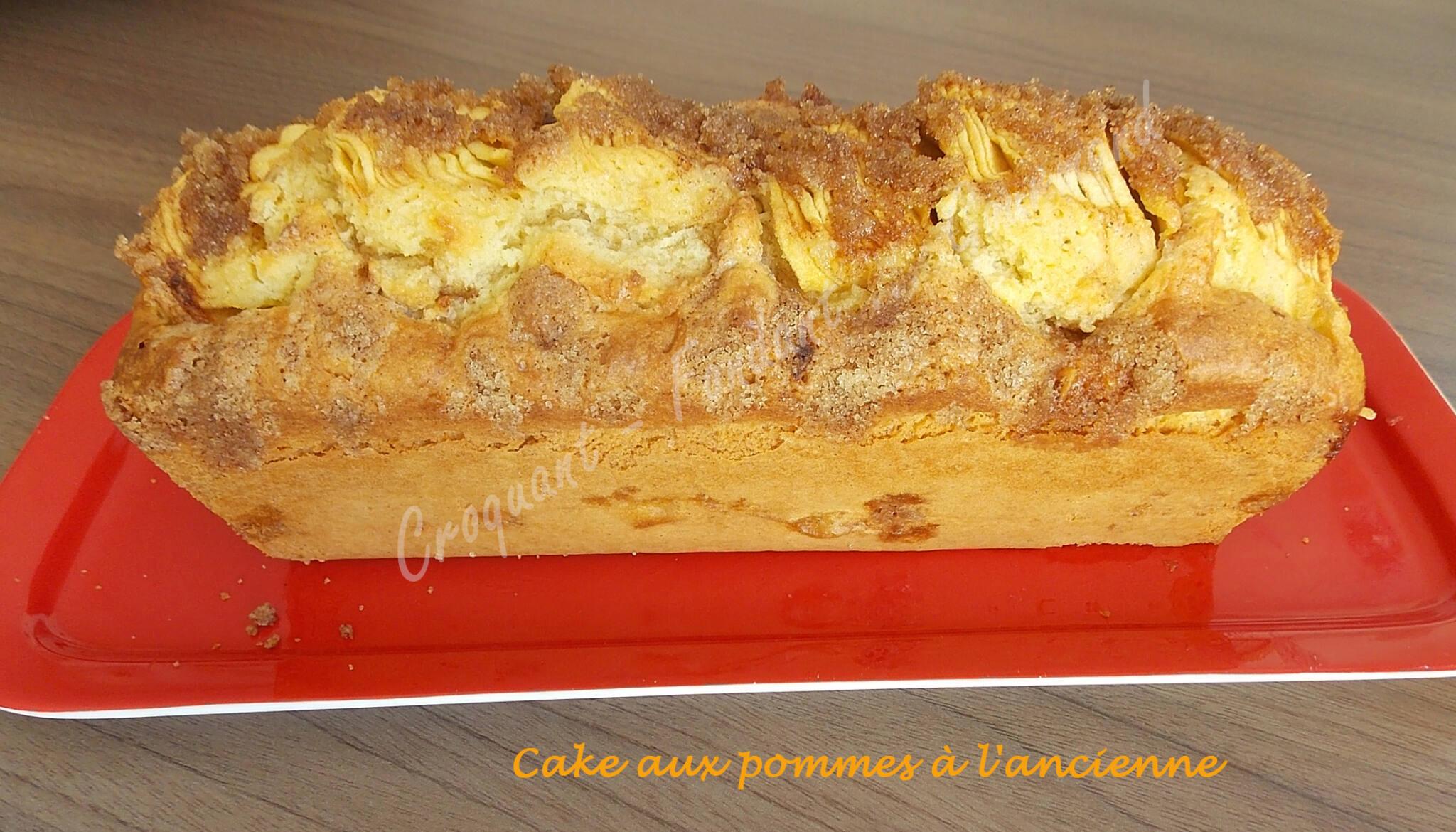 Cake aux pommes l 39 ancienne recettes autour d 39 un ingr dient 22 croquant fondant gourmand - Recette mojito fraise pour 10 personnes ...