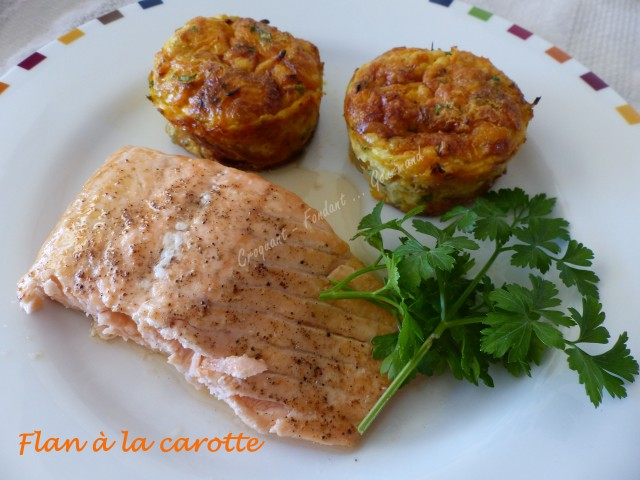 Flan à la carotte P1000803