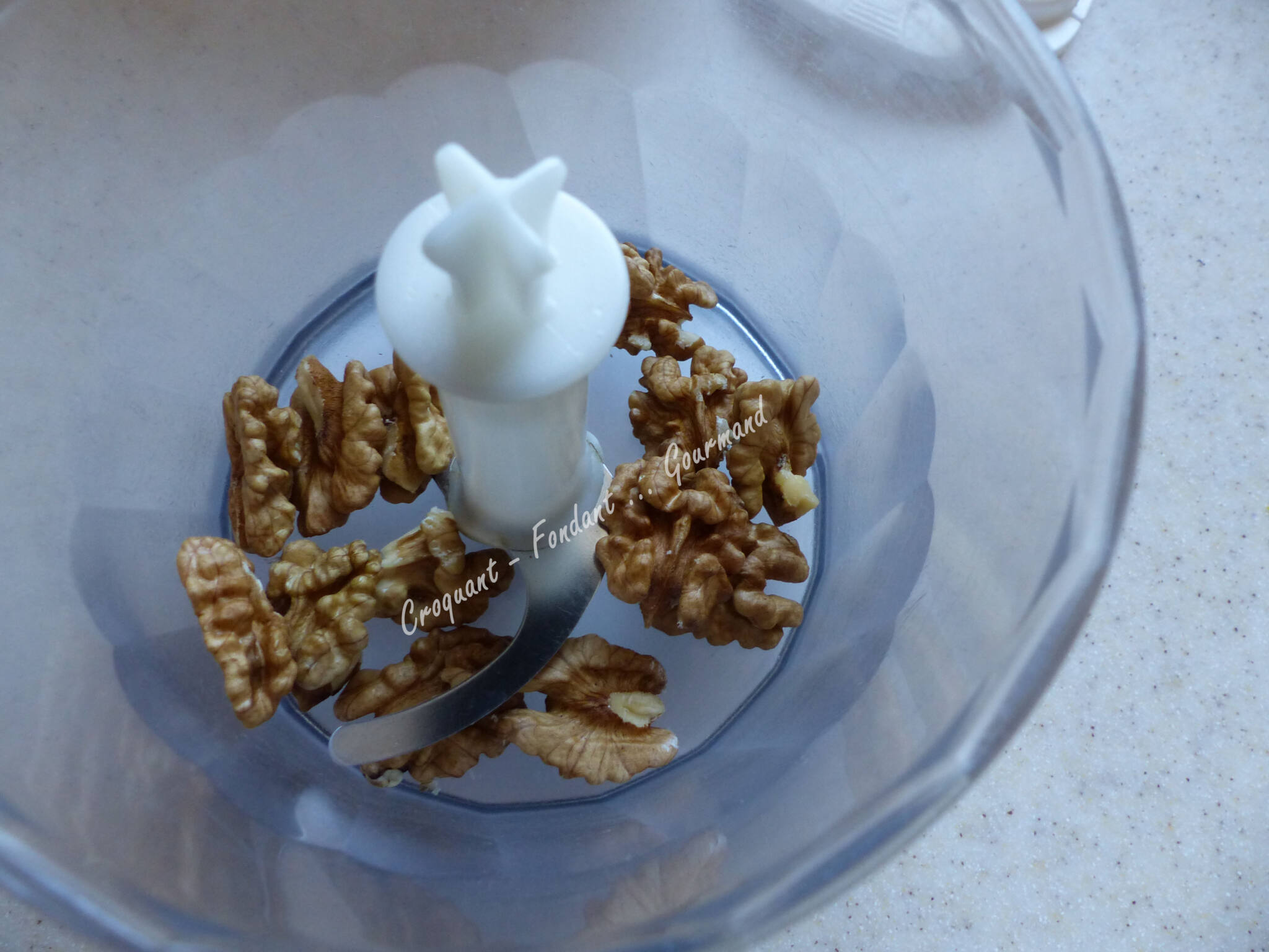 Endives au café et crumble aux noix P1010785
