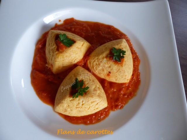Flans de carottes P1010357