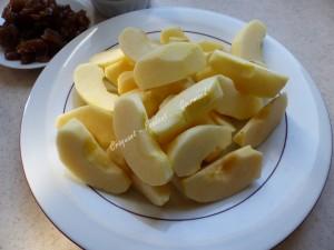 Flognarde aux pommes et aux marrons P1010956
