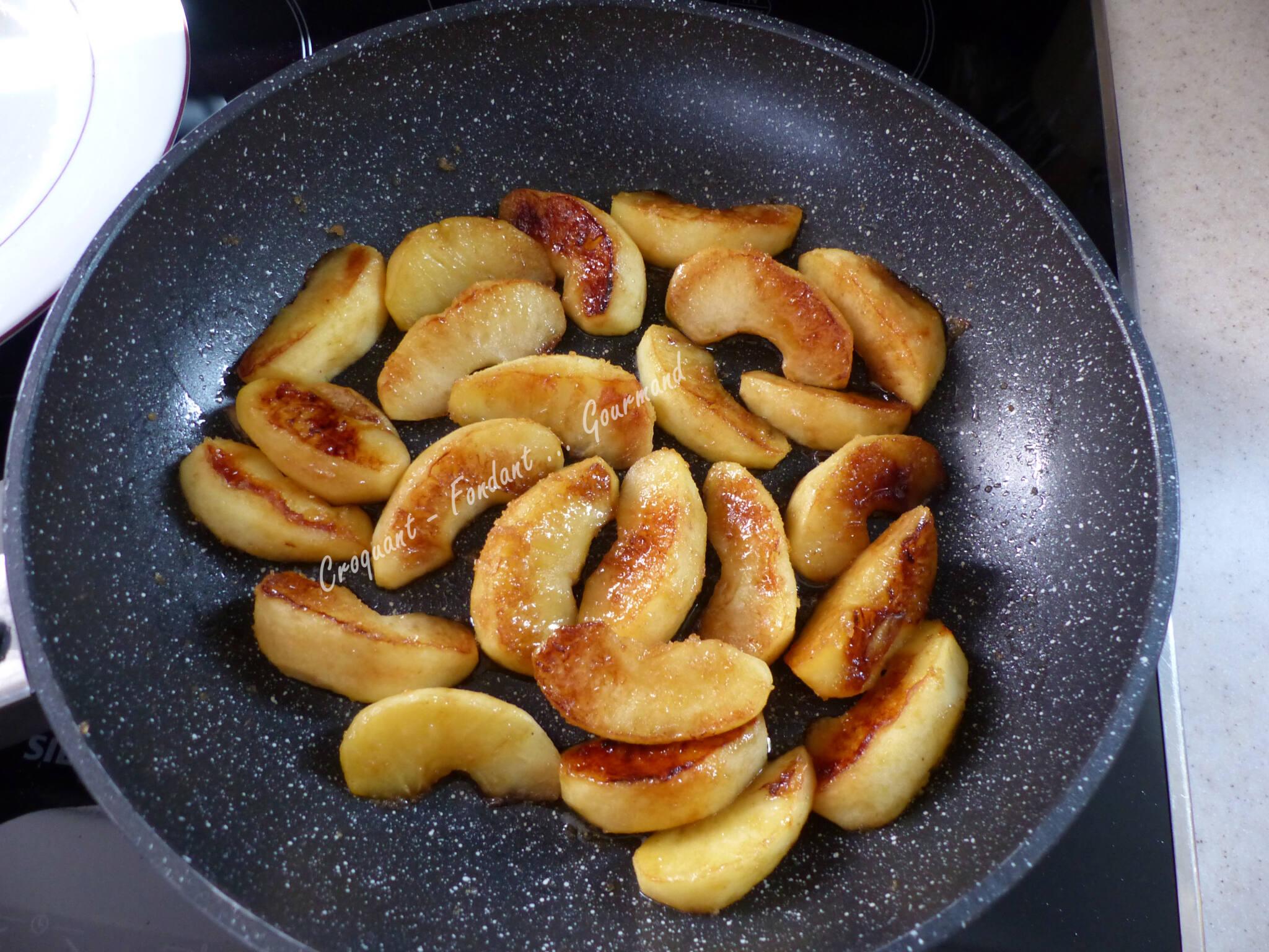 Flognarde aux pommes et aux marrons P1010961