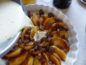 Flognarde aux pommes et aux marrons P1010966