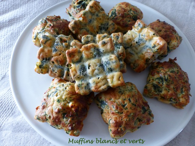 Muffins blancs et verts P1020420