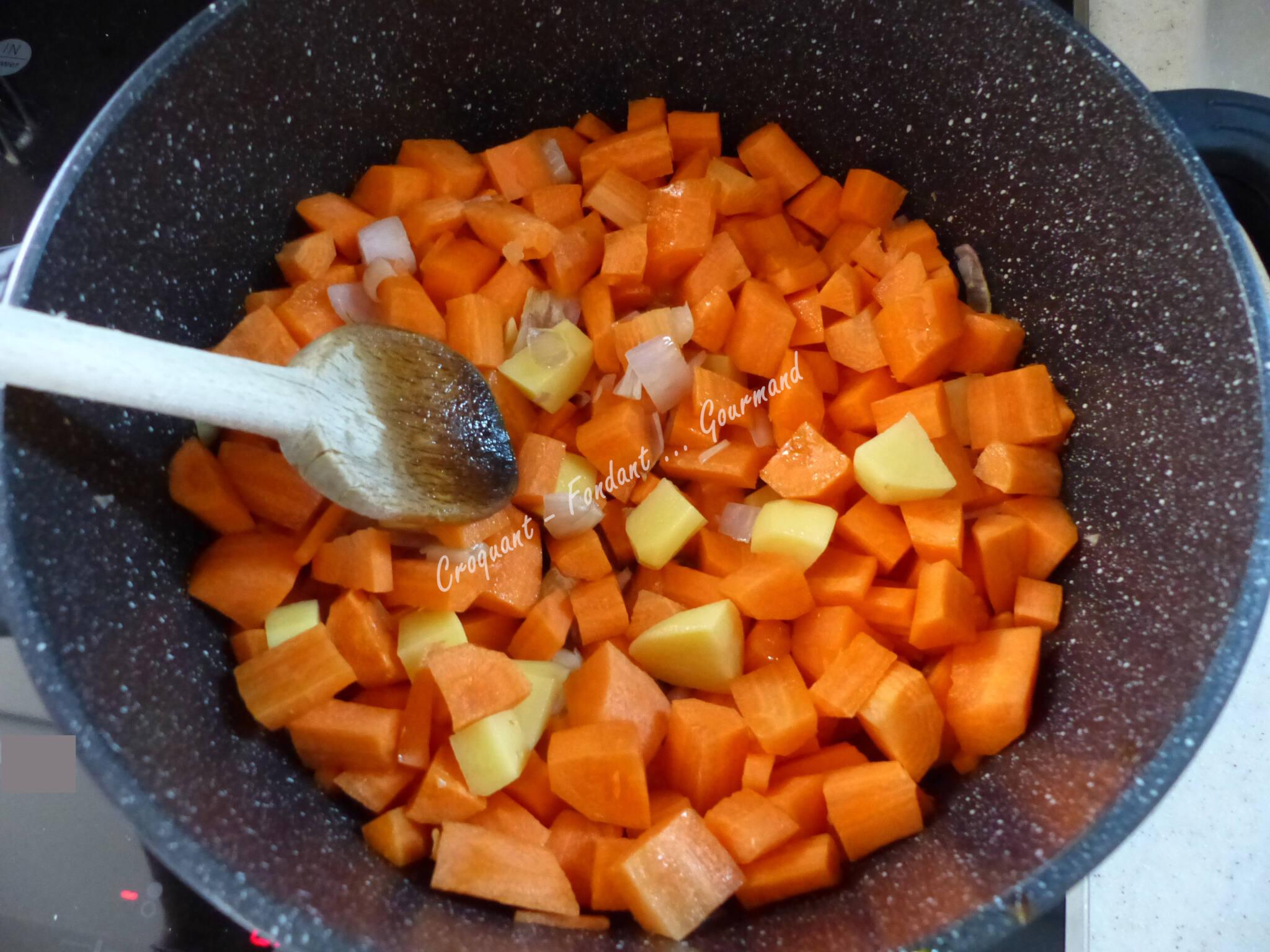 Soupe de carottes à la cannelle P1010614