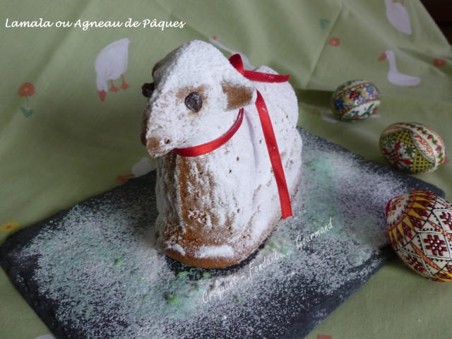 Lamala ou Agneau de Pâques de Bernard P1020618