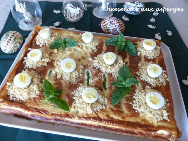 Cheesecake aux asperges P1020964