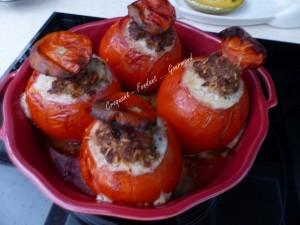 Tomates farcies aux 3 fromages P1030951