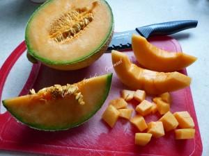 Soupe glacée au melon P1040405