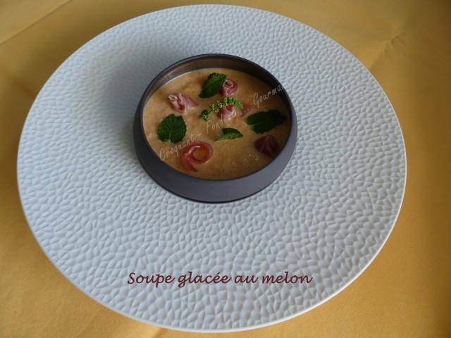 Soupe glacée au melon P1040425