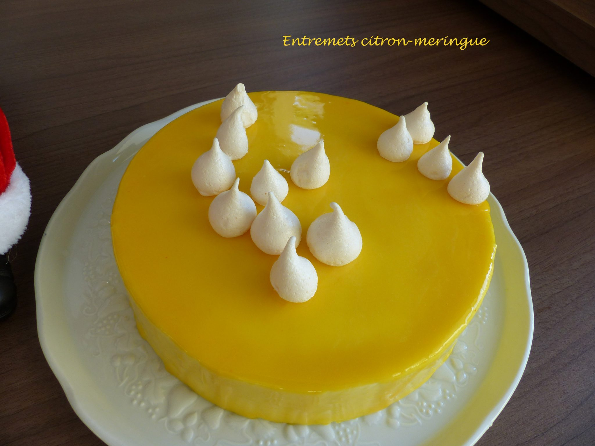 entremets citron meringue croquant fondant gourmand. Black Bedroom Furniture Sets. Home Design Ideas