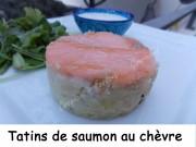 Tatins de saumon au chèvre Index DSCN9124
