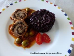 Roulés de veau farcis aux olives P1030034