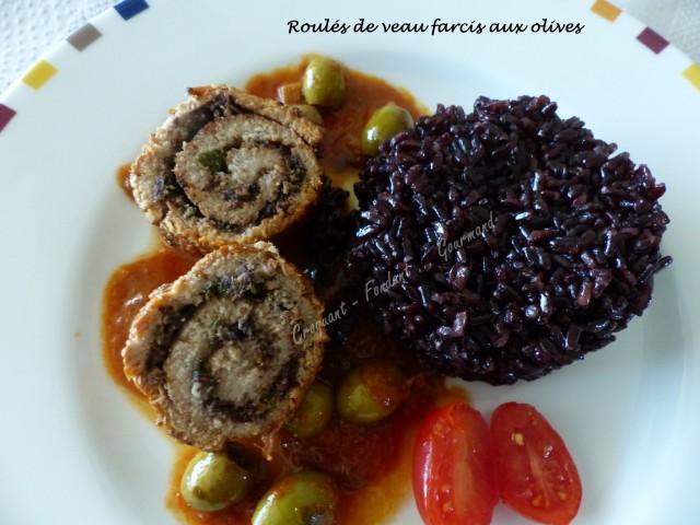 Roulés de veau farcis aux olives P1030036
