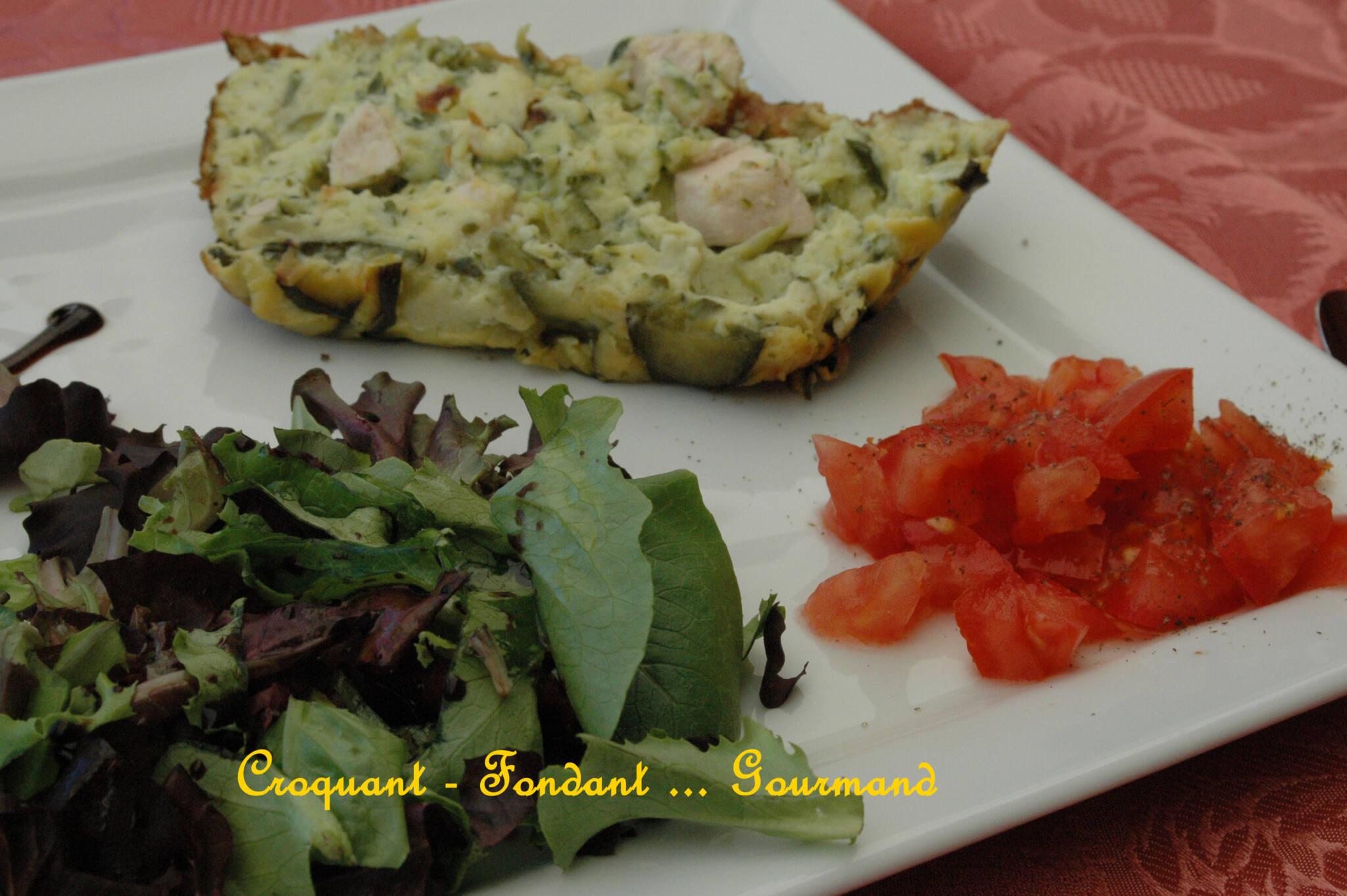 Terrine de courgettes au poulet & à l'origan - juin 2009 070 copie