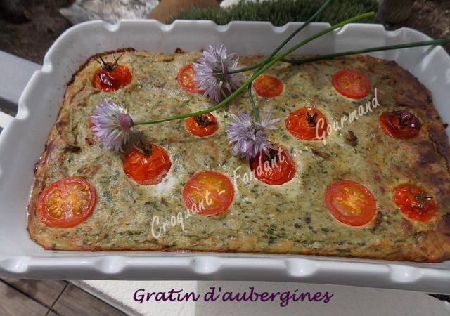 Gratin d'aubergines DSCN8069