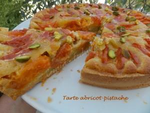Tarte abricot-pistache DSCN8975
