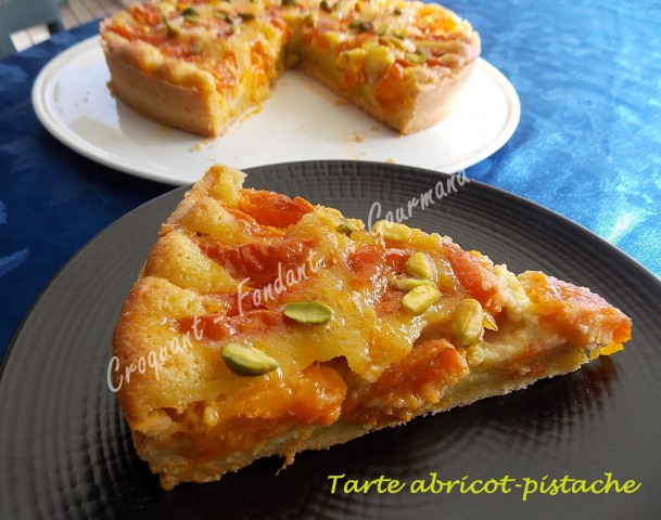 Tarte abricot-pistache DSCN8982