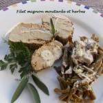 Filet mignon moutarde et herbes DSCN0023