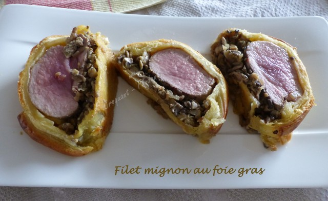 Filet mignon au foie gras P1000872