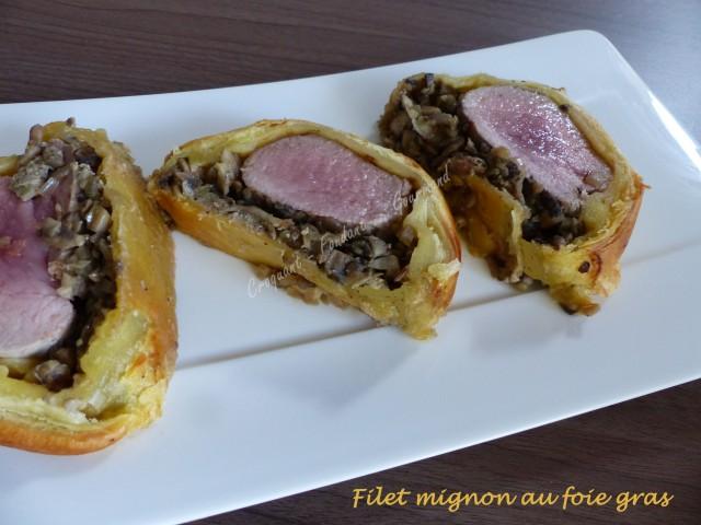 Filet mignon au foie gras P1000873
