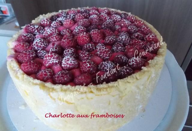 Charlotte aux framboises DSCN2809