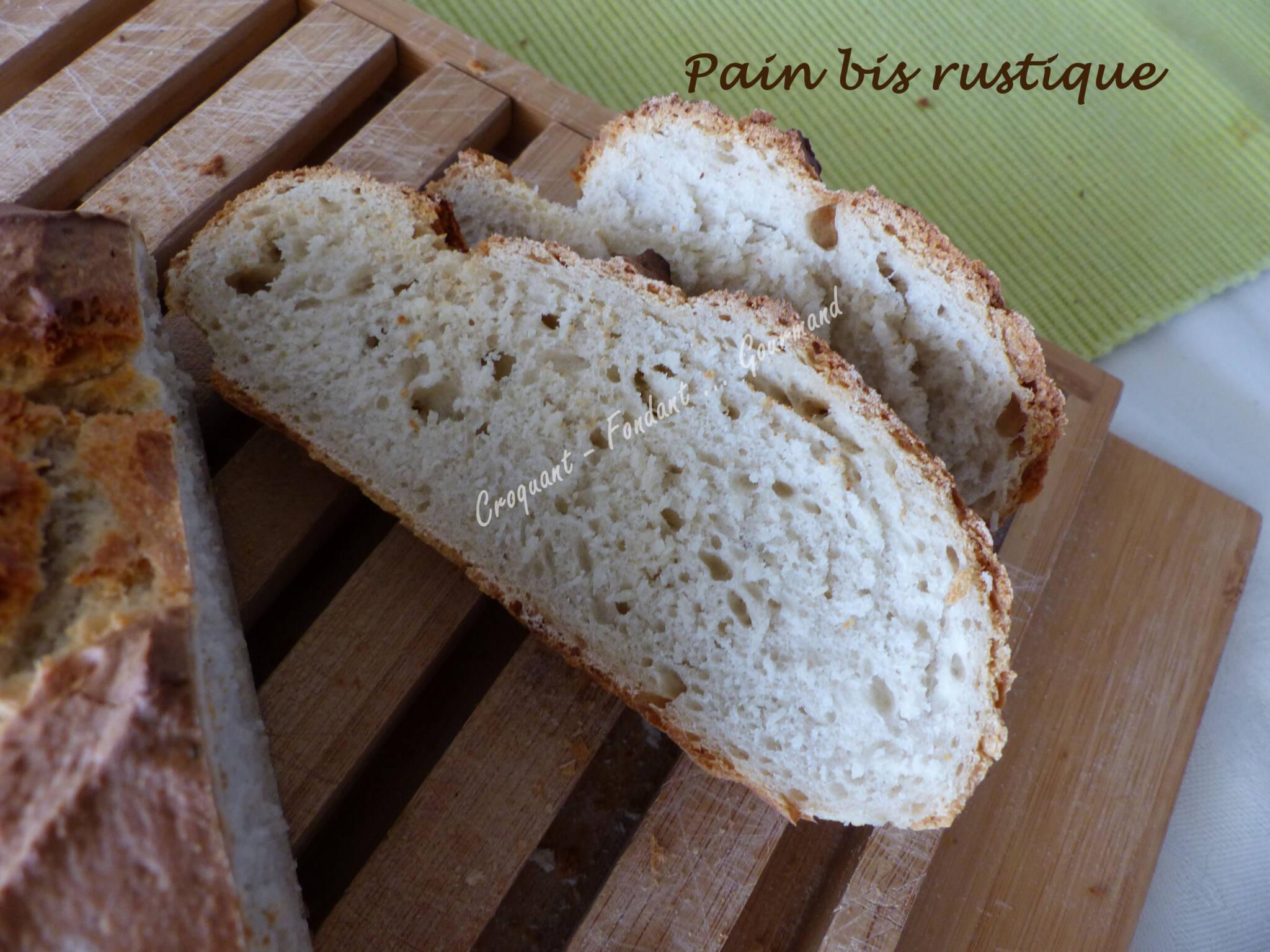 Pain bis rustique P1020145