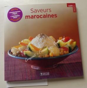 Livre Saveurs marocaines P1040001