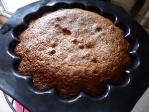 Gâteau semoule et deux citrons P1040660