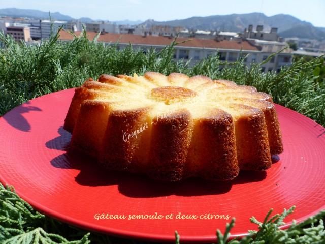 Gâteau semoule et deux citrons P1040667