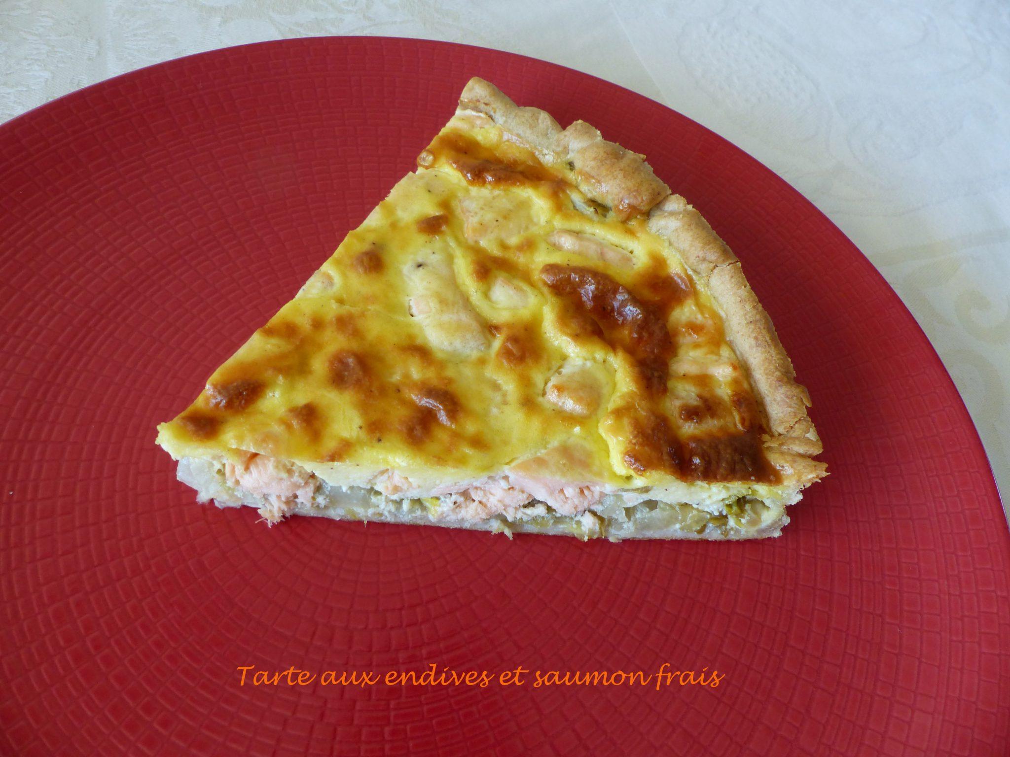Tarte aux endives et saumon frais P1080264 R