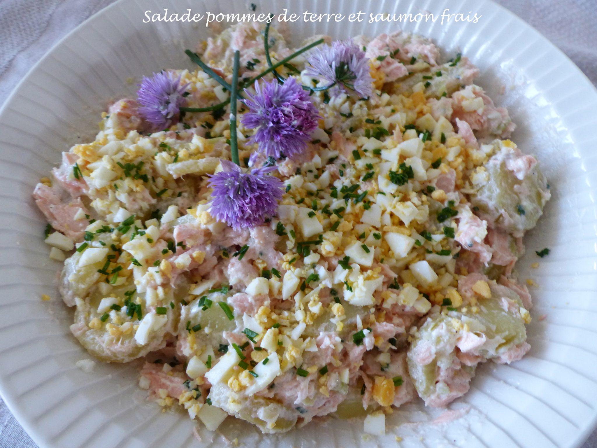 Salade pommes de terre et saumon frais P1100857 R