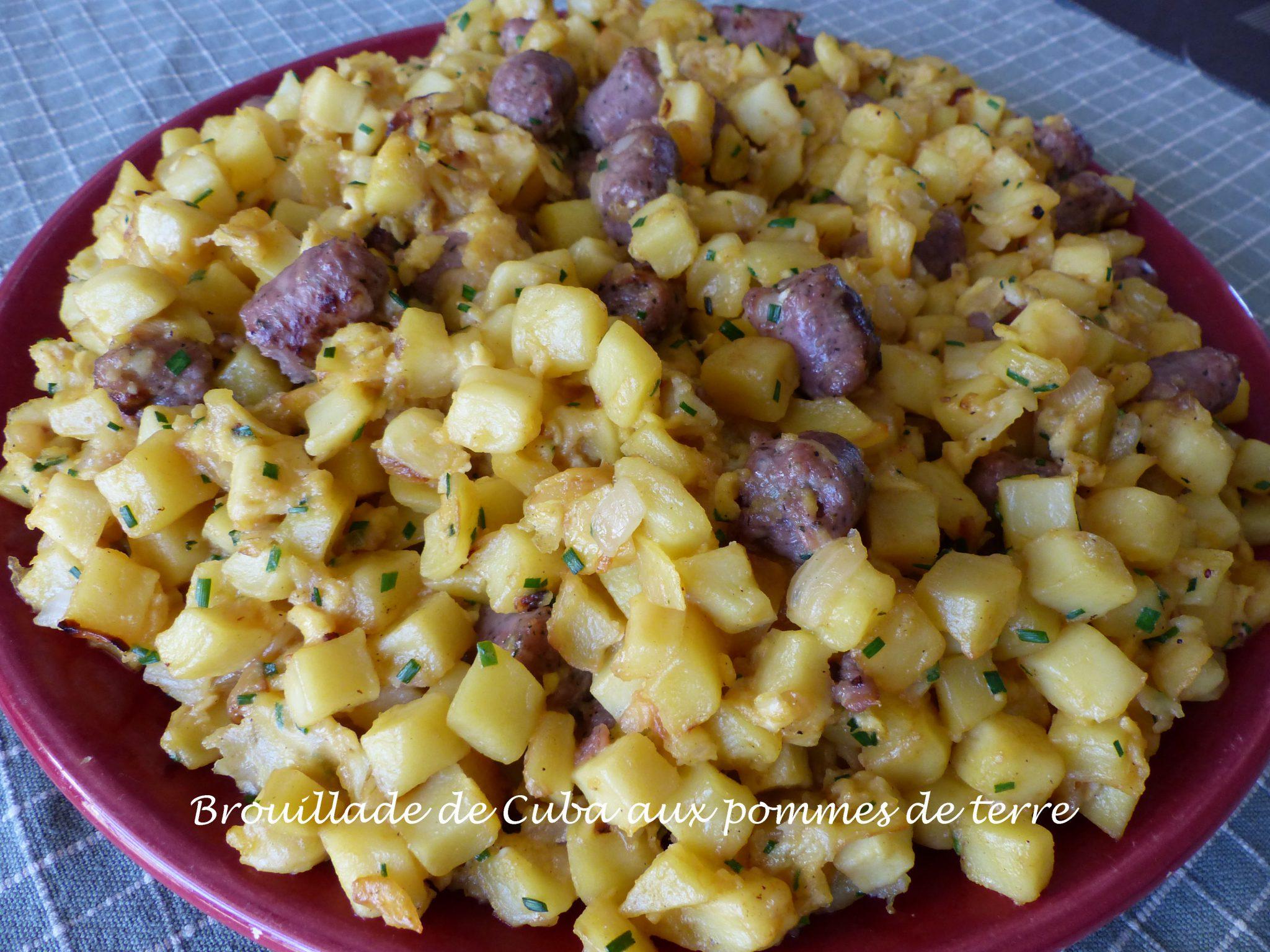 Brouillade de Cuba aux pommes de terre P1120770 R