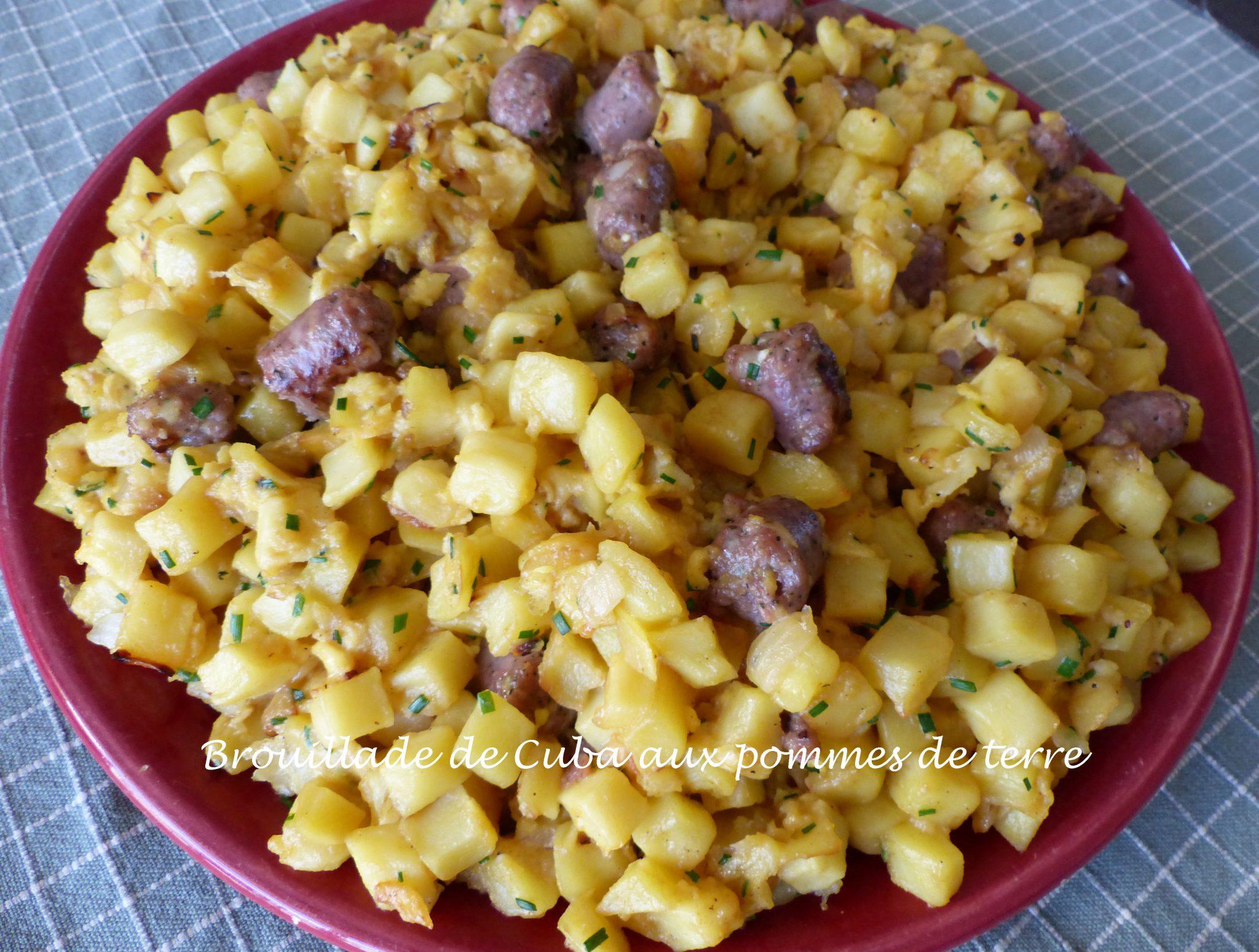 Brouillade de Cuba aux pommes de terre P1120771 R