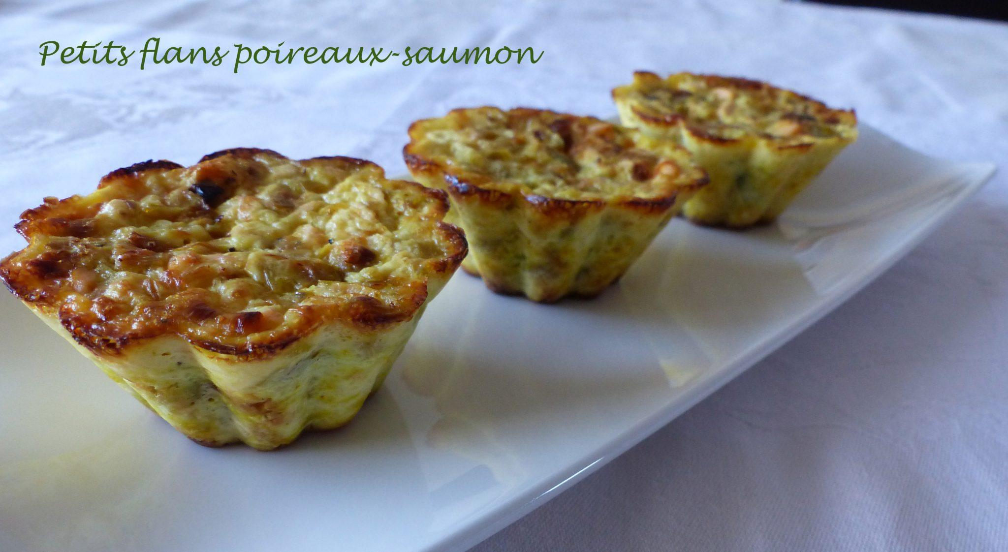 Petits flans poireaux-saumon P1060928 R