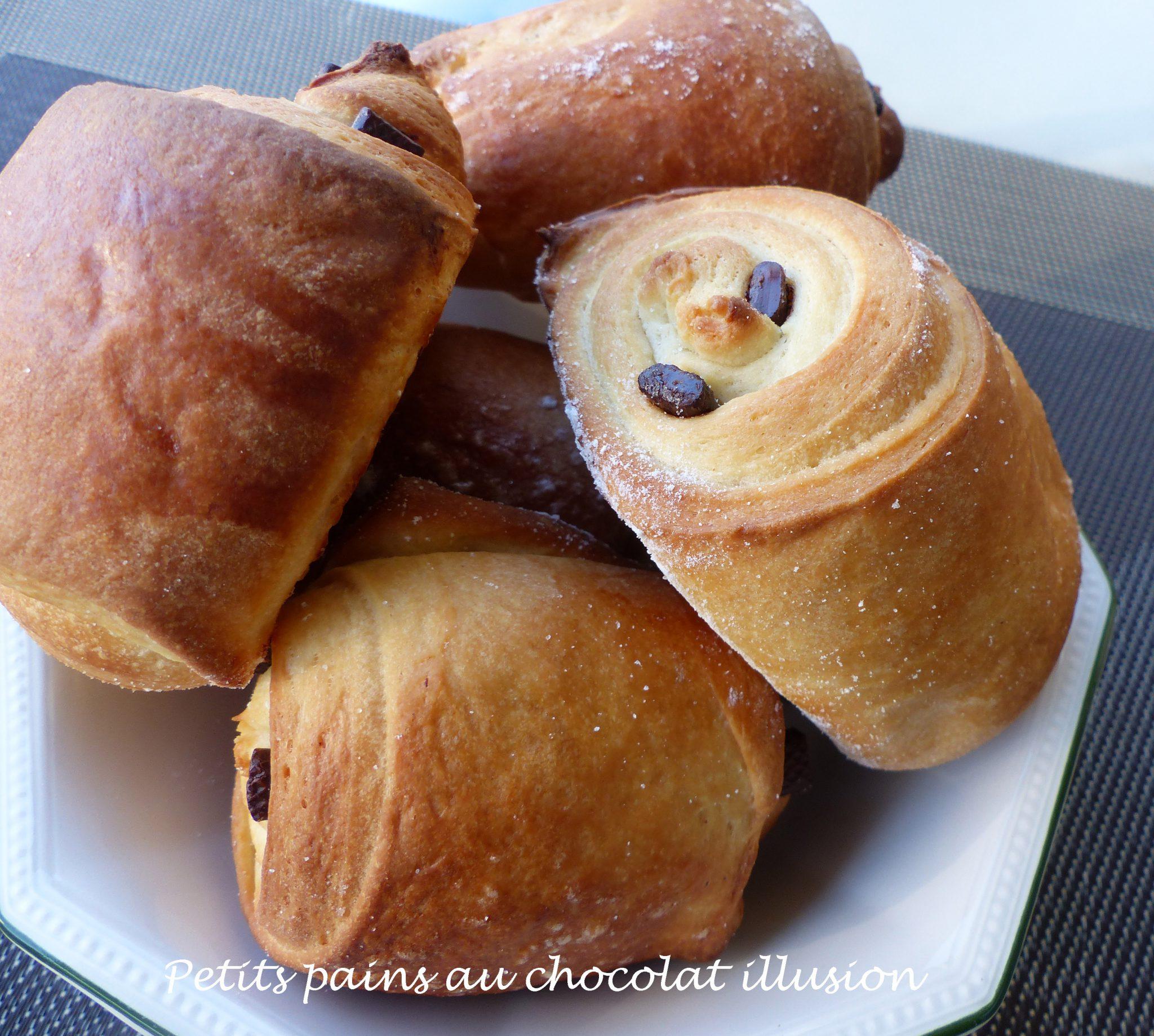 Petits pains au chocolat illusion P1120394 R