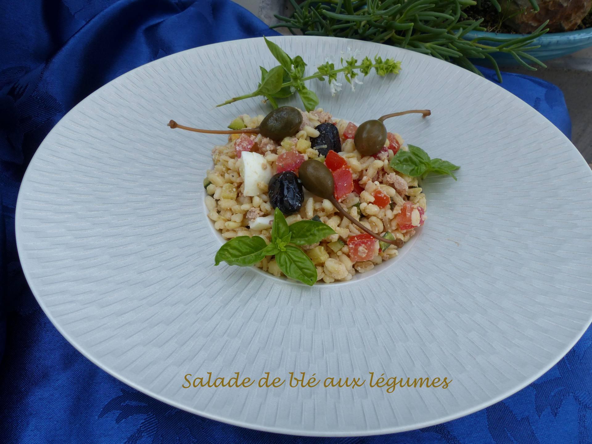 Salade de blé aux légumes P1180755 R