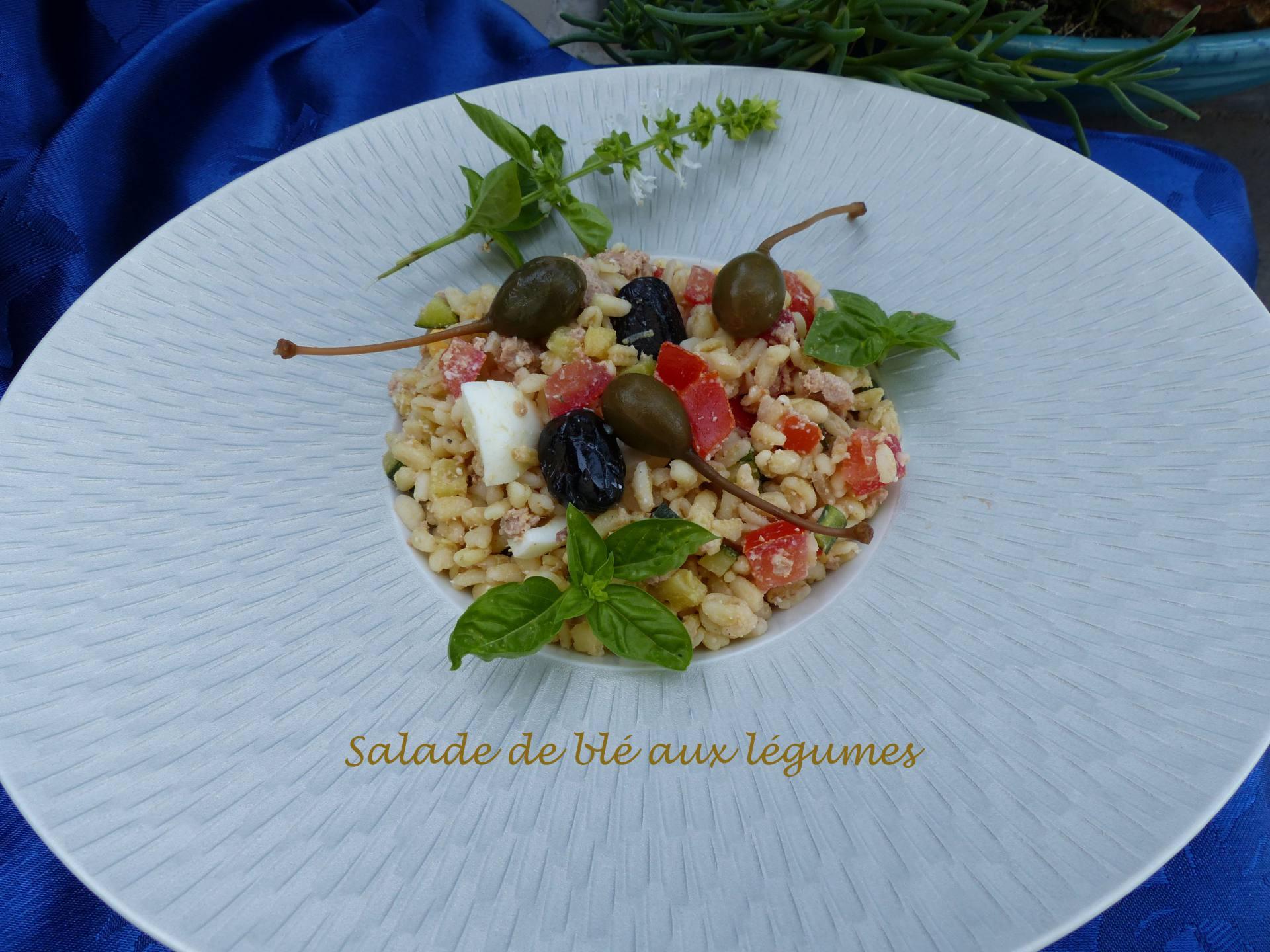 Salade de blé aux légumes P1180758 R