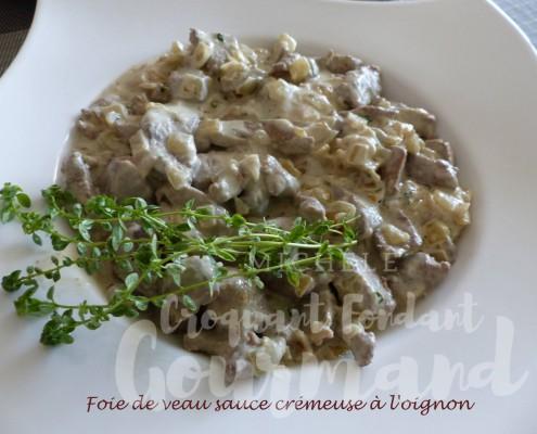 Foie de veau sauce crémeuse à l'oignon P1190034 R