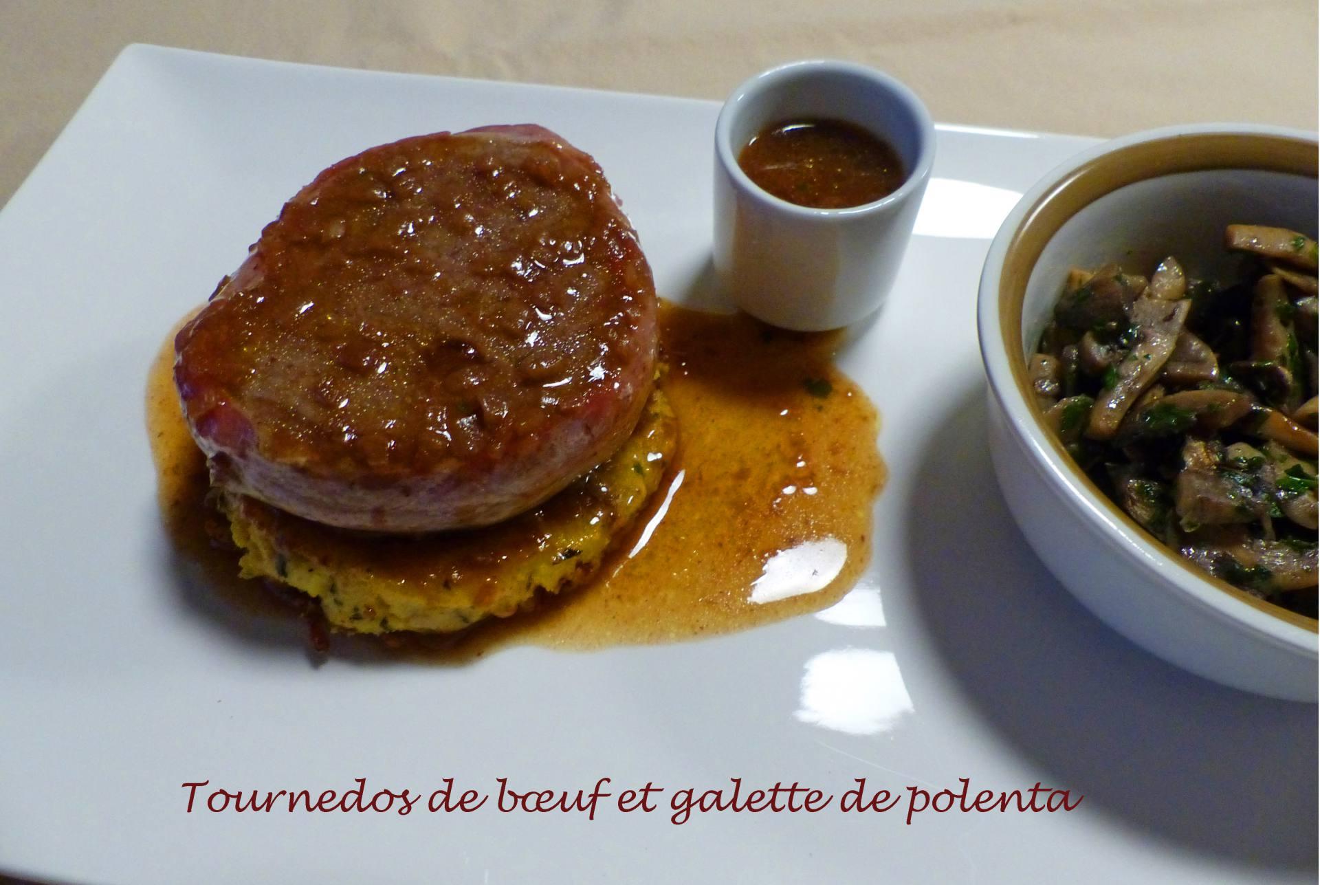 Tournedos de bœuf et galette de polenta P1200392 R