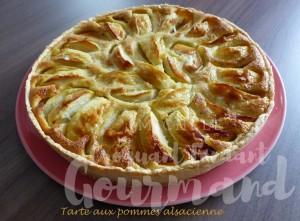 Tarte aux pommes alsacienne P1200671 R