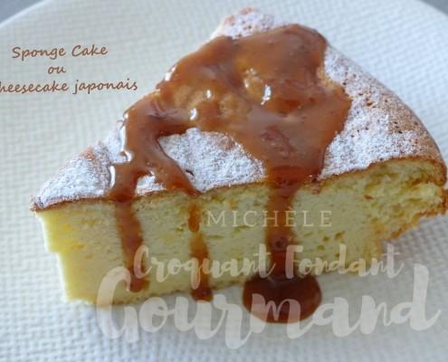 Sponge Cake ou cheesecake japonais P1230038 R