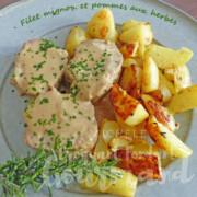 Filet mignon et pommes aux herbes P1230867 R